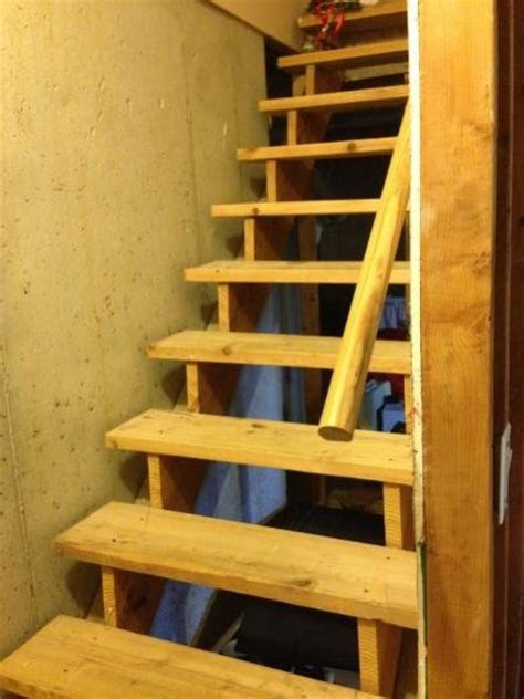 basement finishing steps how to finish these basement stairs doityourself community forums