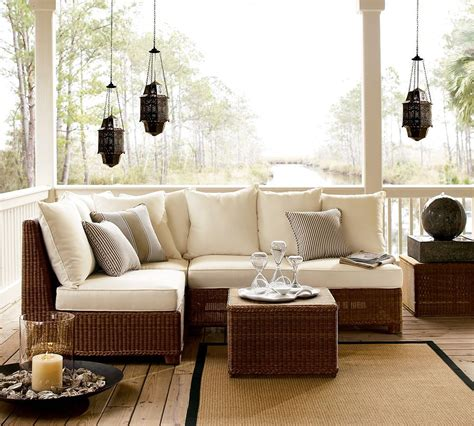 pottery barn outdoor garden furniture by pottery barn