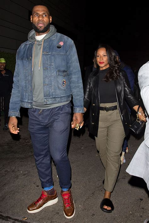 lebron  savannah james   leaving p diddys