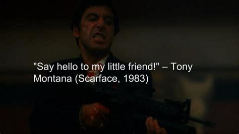 movie quotes hello top 10 badass movie quotes of all time liner medium