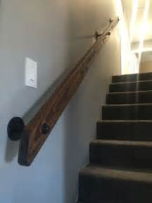 wood handrails for stairs best 25 stair handrail ideas on handrail
