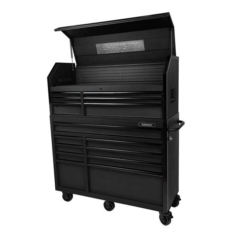 Husky 52 In 18 Drawer Tool Chest by Husky 52 In W 20 In D 15 Drawer Tool Chest And Cabinet