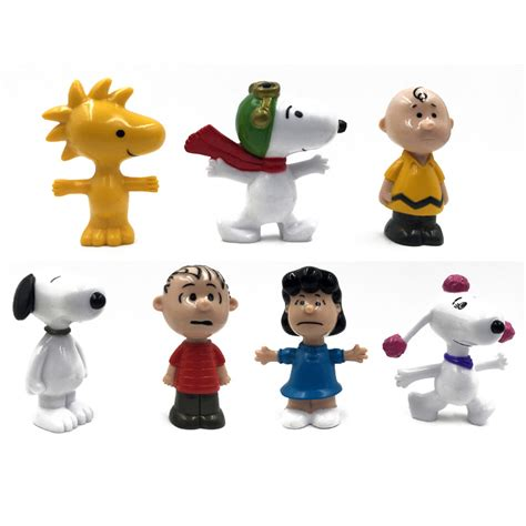 Snoopy Brown And Friends Figure Set 7pcs buy wholesale peanuts from china peanuts