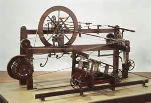 Spinning mule frame 1770s at science and society picture library