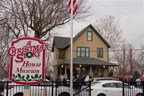 christmas story house a christmas story house in cleveland ohio thought sight
