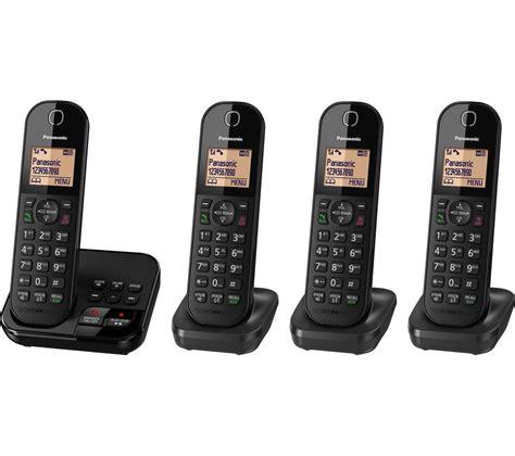 Panasonic Cordless Telephone Wireless Kx Tgf374 panasonic kx tgc424eb cordless phone with bluewater 163 64 99