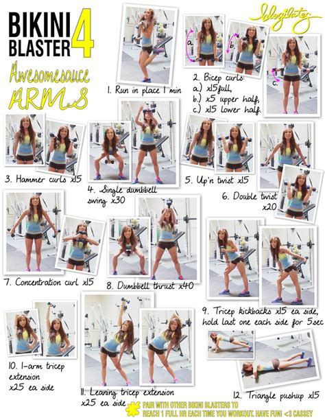 fitness and health printable workouts