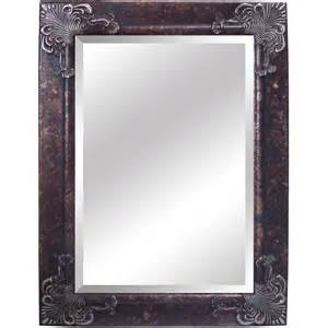 silver framed mirror bathroom yosemite home decor ym002s antique silver framed bathroom