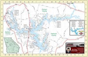 lake sinclair map lake sinclair homes lots for sale