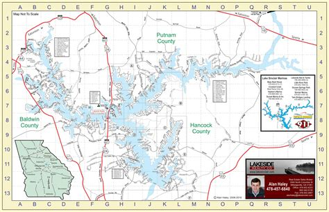 lake oconee map lake sinclair map lake sinclair homes lots for sale