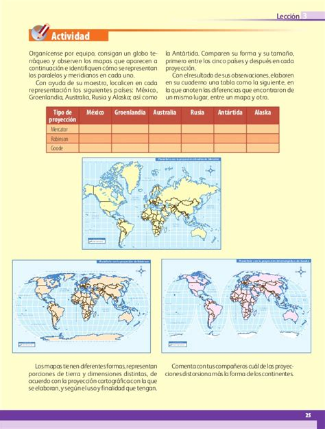 libro de geografa de 5 grado contestado 2016 geografia 5 2013 2014