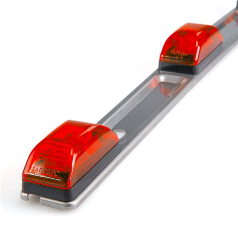 Led Trailer Light Bar Ssmbpc Series 3 L Truck Trailer Id Light Bar Led Id Bars Led Id Bars Reflectors Led