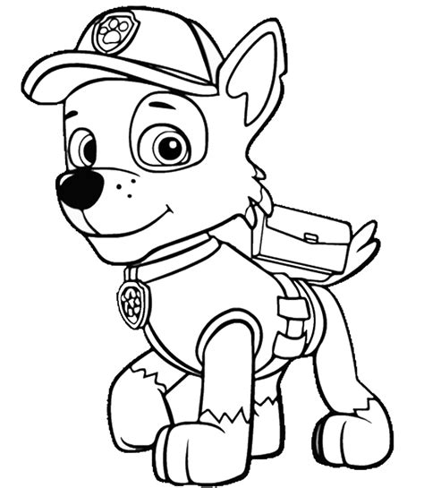 paw patrol lookout coloring page top 10 paw patrol coloring pages of 2017