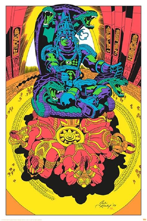 jack kirby lord of light prints now you can own jack kirby s lost argo artwork in full