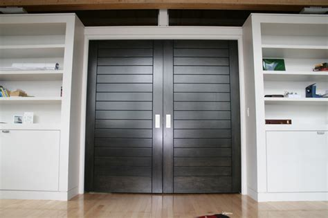 Interior Track Doors Single Track Systems Modern Bedroom Montreal By K N Crowder