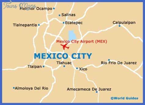 mexico city on map mexico city map toursmaps