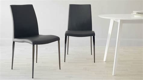 Black And Chrome Dining Chairs Black Chrome Dining Chair Faux Leather Dining Chair Uk