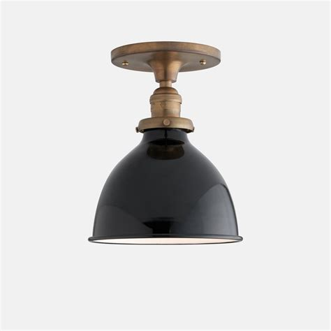 satellite surface mount light fixture brass with