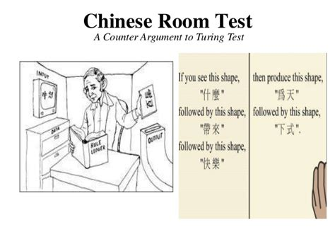 room thought experiment artificial intelligence