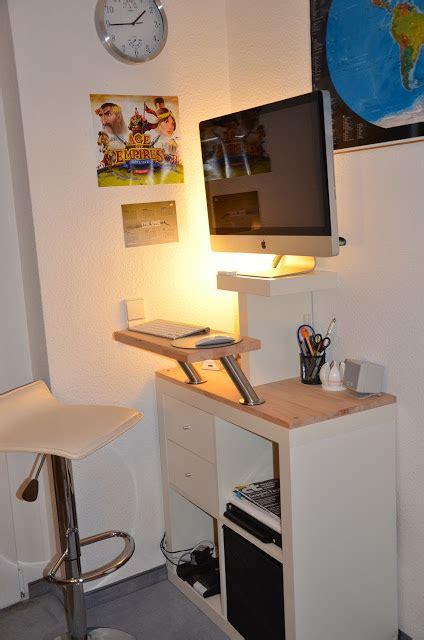 Mr T Another Imac Standing Desk Get Home Decorating Imac Standing Desk