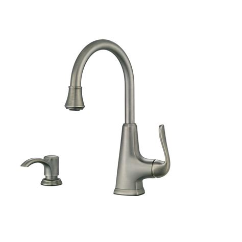 Pfister Pasadena Kitchen Faucet Pfister Pasadena Single Handle Bar Faucet In Slate F 072 Pdsl The Home Depot