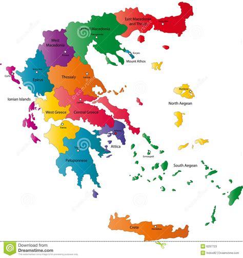 greece map vector vector greece map stock photos image 6297723