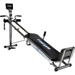 Total gym 1600 workout machine strengthens tones 60 different muscle