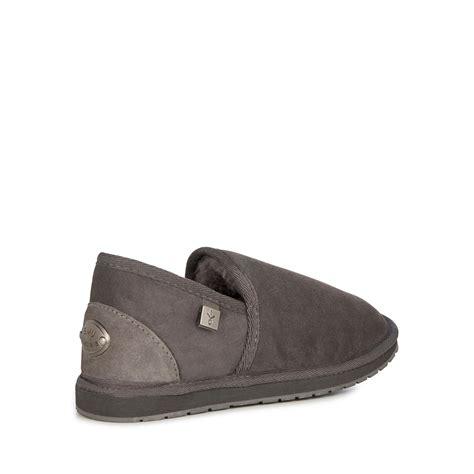 mens sheepskin slippers australia emu australia mens slippers platinum ashford sheepskin