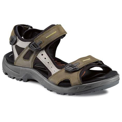 ecco mens sandals ecco 2017 mens offroad walking nubuck leather shoe sandals