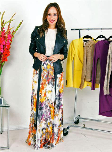 a z trend guide knits maxi skirts sydne style