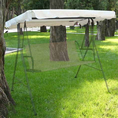 outdoor swing awning replacement outdoor replacement swing canopy 77x43 seat top cover