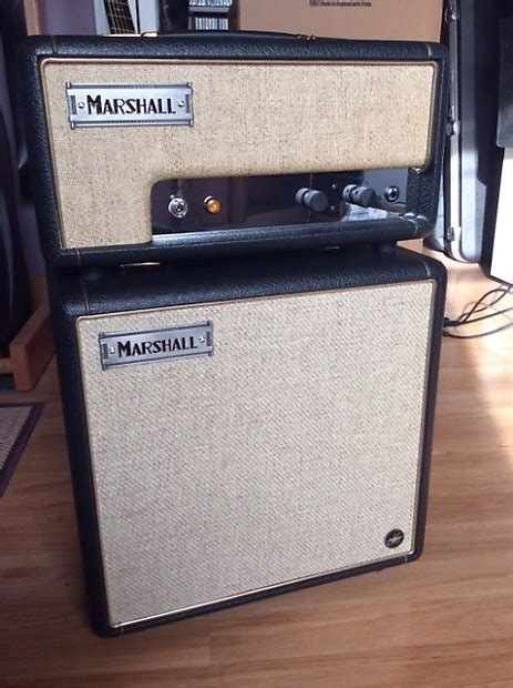 marshall head and cabinet marshall custom offset 1 watt head cabinet custom