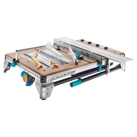 scie plongeante 654 wolfcraft master cut 2500 precision saw and work table
