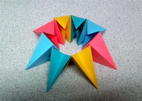 Origami Circle Packing - magic circle origami choice image craft decoration ideas