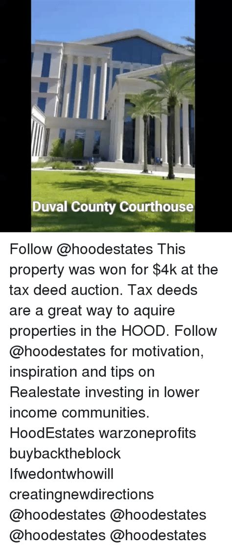 Duval County Property Tax Records Duval County Courthouse Follow This Property Was Won For 4k At The Tax Deed Auction