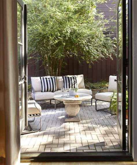 Backyard Ideas Patio by Small Patio For Townhouse Patio Dallas