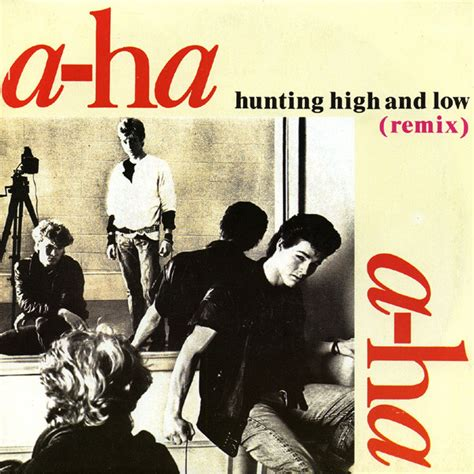 how low remix a ha hunting high and low remix vinyl at discogs