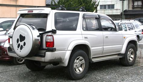 Toyota Suff Toyota Hilux Surf Model Overview