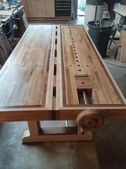 werkstatt zu hause 200 roubo split top bench workshop and garage