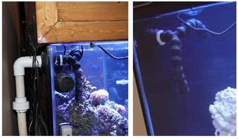 Aquarium Return Plumbing by Some Sump Basics Reef Aquarium
