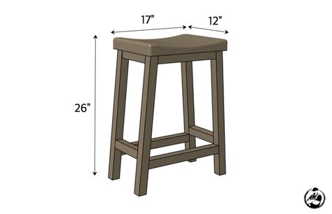 diy bar stool plans counter height bar stool 187 rogue engineer