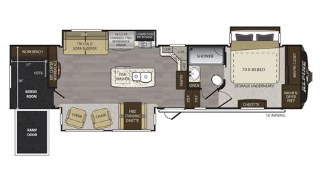 Carbucks Floor Plan by 100 Fifth Wheel Toy Hauler Floor Plans Best 25