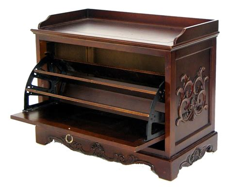 Unfinished Wooden Bench Furniture Captivating Wooden Shoe Organizer For Saving