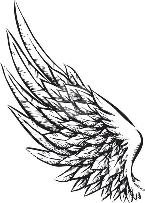eagle wing tattoo designs best 25 wing tattoos ideas on wing
