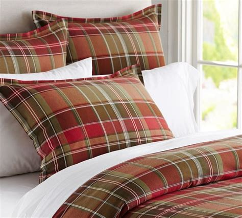 tahoe plaid duvet cover traditional duvet covers and duvet sets sacramento by pottery barn