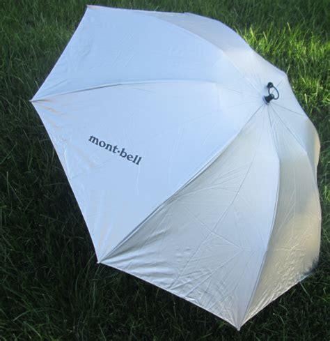 Parasol Sunblock 20 Gr montbell sun block umbrella test report by david wilkes backpackgeartest org