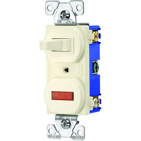 eaton 15 single pole combination toggle switch and
