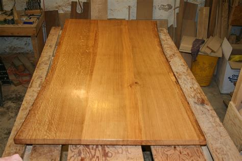 Slab Dining Room Table by Custom Made White Oak Dining Table Top Live Edge By