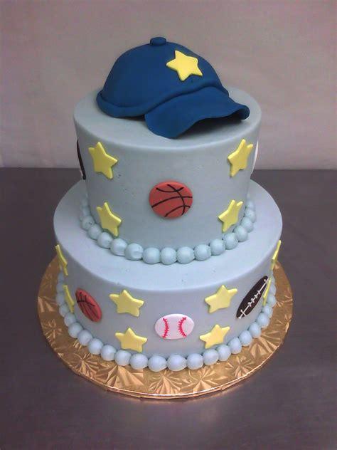 sporty baby shower cake made custom cakes