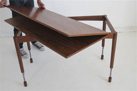 height of coffee table coffee table hyatt fulton industrial adjustable height